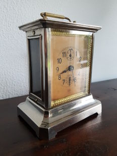 Junghans carriage alarm clock – approx. 1900
