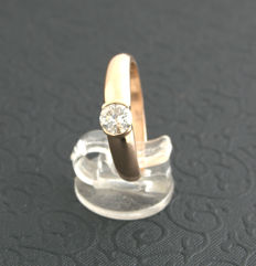 Diamond Solitaire Ring  ***no reserve price***