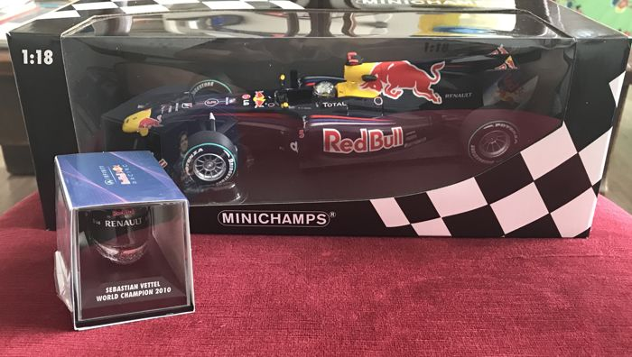 Minichamps - Scale 1 18-1 8 - Sebastian Vettel Red Bull Racing RB6 ... e326e9e999