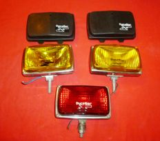 DUCELLIER - KIT 2 fog lights, yellow light + rear fog lights, used in good condition
