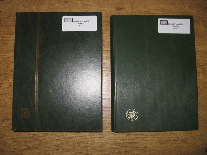 GDR, Collection 1957/1990 - In two stock albums - Michel 559/3365