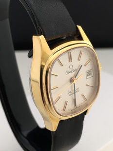 Omega De Ville_Ladies_ Quartz_Date_As NEW_Box
