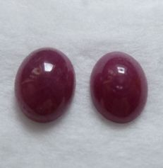 Rubies Matching Pair – 2.83 ct