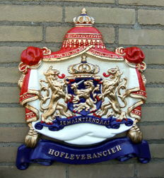 "Coat Of Arms ""Hofleverancier"" (Purveyor to the Royal Household)"