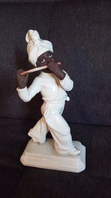 Rosenthal Figurine of Moor with Flute