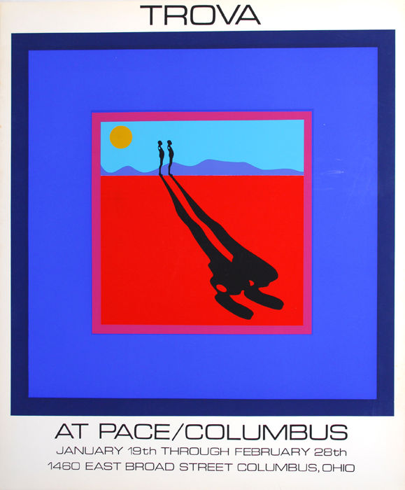 Ernest Trova - Falling Man for PACE, Columbus - 1970s