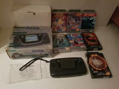 Sega game gear boxed with 7 games cib