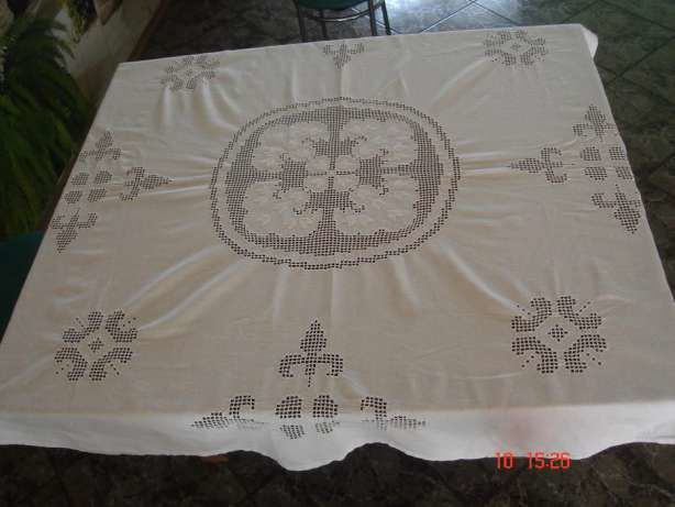 Very old linen tablecloth 180/140