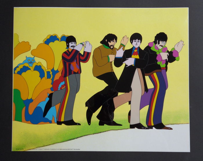 King Features Studios - Serigraph cel - The Beatles - Yellow Submarine (1999)