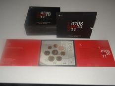 The Netherlands - Year paks 2009 with 1 Cent to 2 Euro (10 pieces)