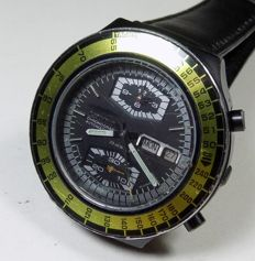 Citizen 67-9178 - Cal: 8110A Chrono - Yellow Bezel - 1970's - Men's Chronograph