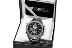 Barkers of Kensington - Premier Sports Black - Men's Watch - 2017