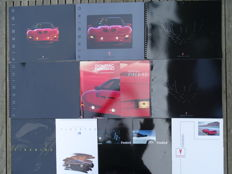 "1991 - 2002 - PONTIAC ""Firebird"" - Coupé, Convertible, Trans Am, Firebird GTA, Formula, etc - mixed lot of 12 original sales brochures"
