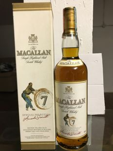 Macallan 7 years old Giovinetti