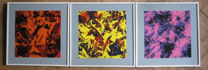 JMWierba - Abstract 123 - triptych