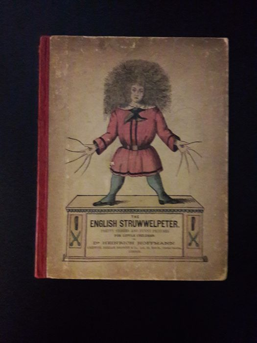 Picture books; Lot with 3 versions of The Struwwelpeter - 1895/1930