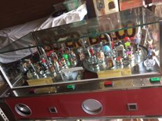 Beautiful original fairground Balco rotor 2-player with 40 prize trays and fairground prizes 1987