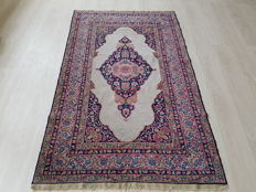 Antique Persian Keshan around 1900 collector's piece