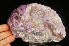 Large lilac purple rare Stichtite - cutting grade - 16,0 x 10,5 x 4,5 cm - 729gm