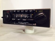Becker 663 classic old-timer car radio from the 1980s for Mercedes/BMW/Volkswagen and others
