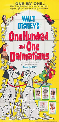 Walt Disney - One Hundres and One  Dalmatians - 1961