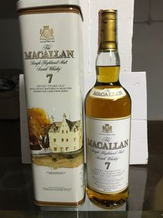 Macallan 7 years old Maxxium Italia