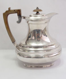 Fine Quality Silver Plated Water Jug Roberts & Belk, England - c. 1863