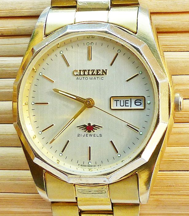CITIZEN Eagle 7 day date automatic 1980s men's Catawiki