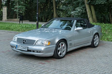 Mercedes-Benz - SL500 Silver Arrow Limited Edition - 2002
