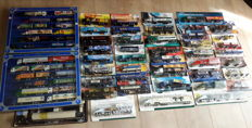 Various - Scale 1/87 - Lot with 66 Models: 2 x with collection box