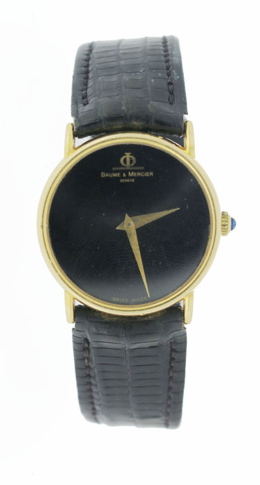 Baume & Mercier Classic Manual 18k gold - Men's Watch