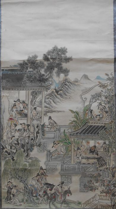 Large scroll - China - late 20th century