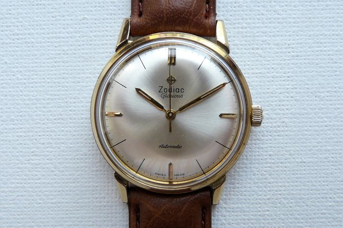 Zodiac - Glorious Dress Wristwatch - 7 0 3 - 9 1 7 - Heren - 1960-1969