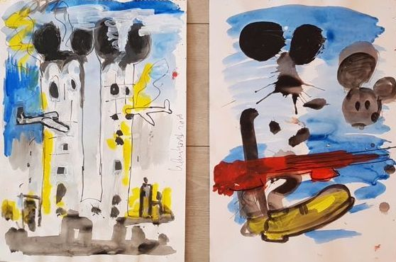 Peter Klashorst - Mickey Mouse serie