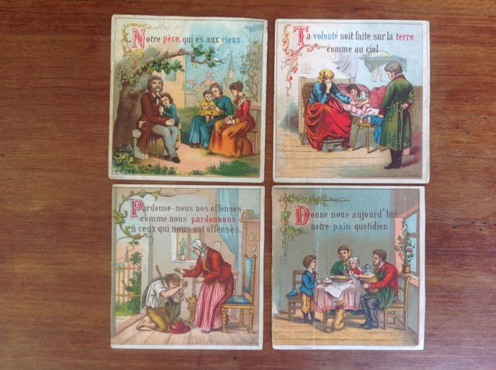 2 lots of pious images from 1892 to 1961- France
