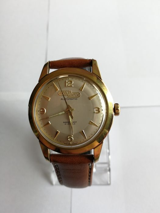 Nicolet Watch -21 Jewels- Antimagnetic-Men-1950-1959