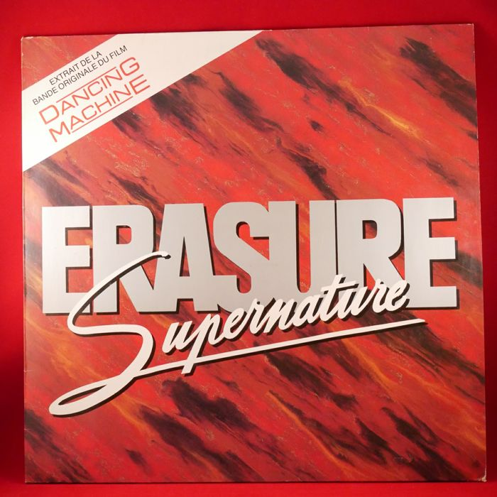 Erasure - A collection of 5 singles and promo vinyl records