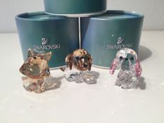 Swarovski - Dixie the Yorkshire Terrier - Puppy Max the Beagle - Puppy Rosie the Poodle