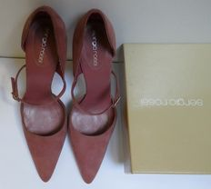 Women's Sergio Rossi court shoes with strap – size 4 (UK), 37 (IT). Made in Italy.