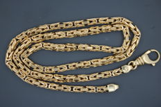 ROYAL necklace made of 585/14 kt yellow gold - 47 cm