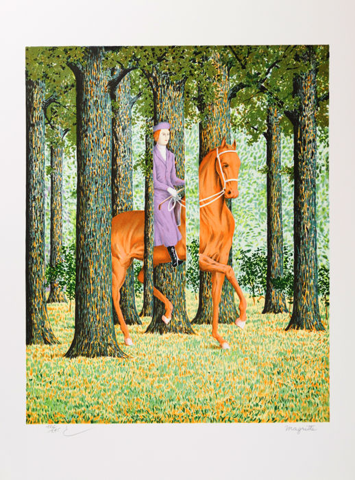 René Magritte (after) - Le Blanc Seing (The Blank Signature)