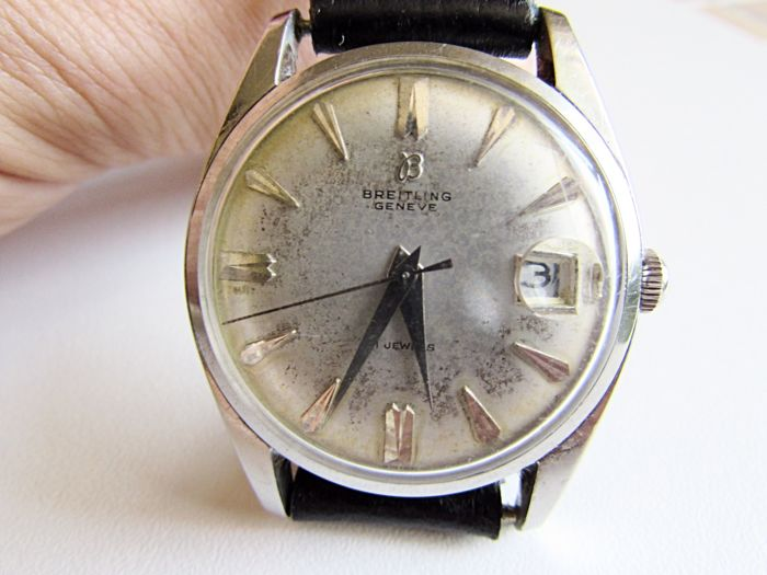 Breitling 6626 - Men's wristwatch from the late 1950s