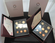 Austria – small coin sets 2003 and 2004