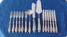 """SOLINGEN"" dessert cutlery for 6 people, vintage"
