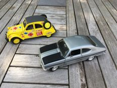 Revell / Maisto - Scale 1/18 - Opel Kadette Olympia Rally 1800 and Citroen 2 CV