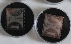 The Netherlands 2001 0 Silver surprise stamp - NVPH 2009 (100 x)