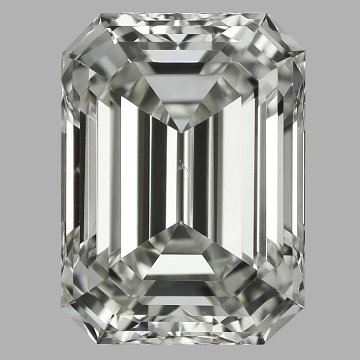 Emerald Cut  0.54ct   H VS2   IGI  -Original Image-10X - Serial# 574