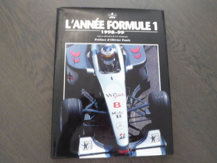 Book l 39 ann e formule 1 1998 1999 catawiki for Booking formule 1