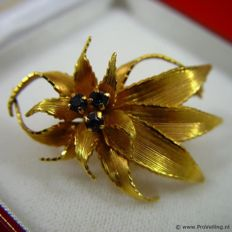Vintage Hollywood collection Brooch, brand Plorgal, around the 1940s, France