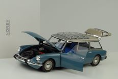 Norev - Scale 1/18 - Citroen DS 19 Break 1967 - blue